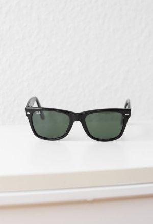 Original Ray Ban Sonnenbrille schwarz Wayfarer inkl. Case Vintage Look