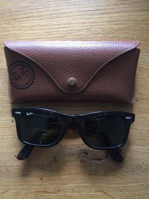 Original Ray Ban Wayfarer Sonnenbrille Hornoptik