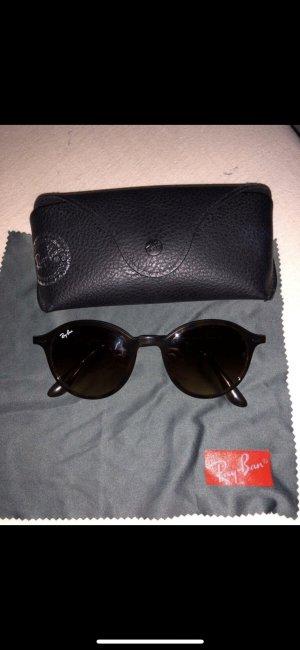 Ray Ban Round Sunglasses brown-black