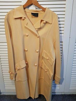 Rena Lange Short Coat pale yellow new wool