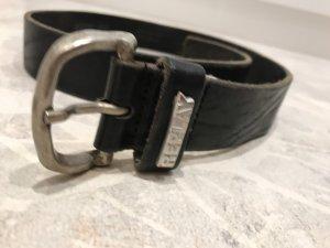 Replay Cintura di pelle nero
