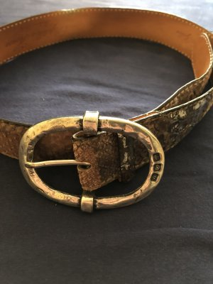 Reptile's House Leather Belt multicolored