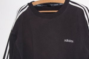 Adidas Originals Felpa nero-bianco Cotone