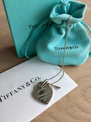 Original Return to Tiffany Halskette Herz mit Schlüssel