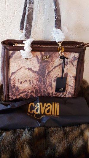 Original Roberto Cavalli Class Handtasche Braun
