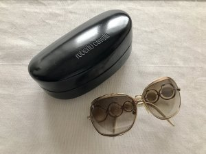 Roberto Cavalli Round Sunglasses gold-colored