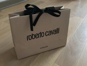 Original Roberto Cavalli Tüte Papiertüte Einkaufstüte Geschenktasche neu