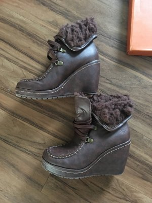 Original Rocket Dog Booties / Ankle Boots gefüttert braun