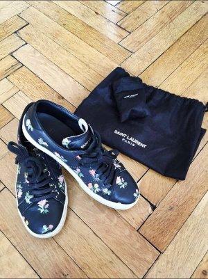 Saint Laurent Lace-Up Sneaker multicolored leather