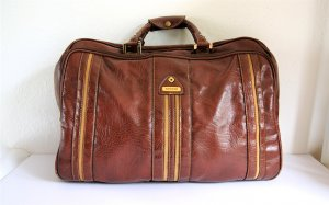 Samsonite Weekender Bag brown-brown red