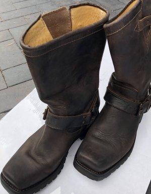 Sancho Buskins dark brown leather