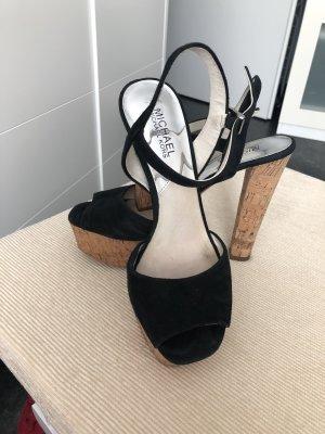 Michael Kors Plateauzool sandalen zwart