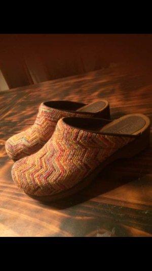 Original Sanita Wood Clogs neu, die Farbe ist vergriffen