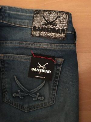 #Original #Sansibar Denim# Jeans #KEA SKINNY Low Rise #Comfort Stretch#