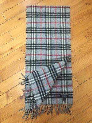 Original Schal von Burberry in grau