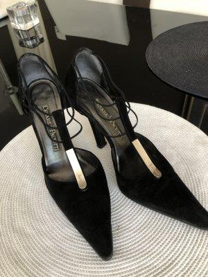 Original schwarze Cesare Paciotti Pumps High Heels