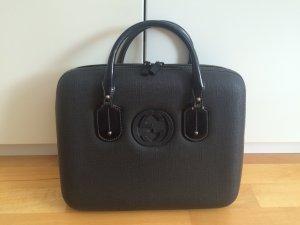 Original schwarze Laptoptasche von Gucci