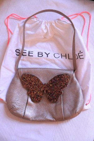 Origínal See by Chloé Butterfly Flap Party Shoulder Bag