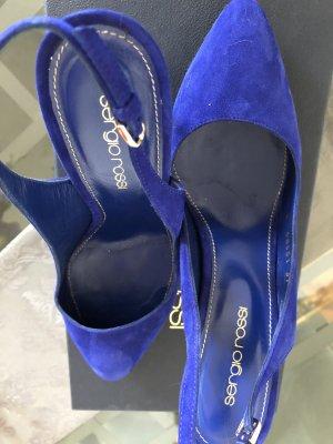 Sergio Rossi Slingback pumps blauw