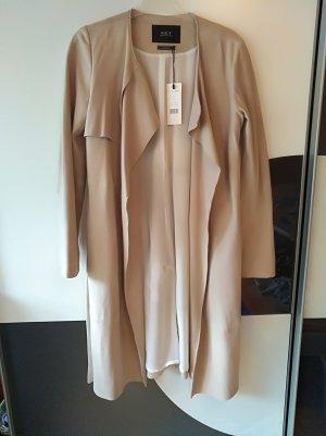 Set Leather Coat multicolored suede