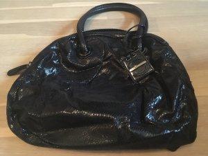Sisley Handtas zwart-zilver