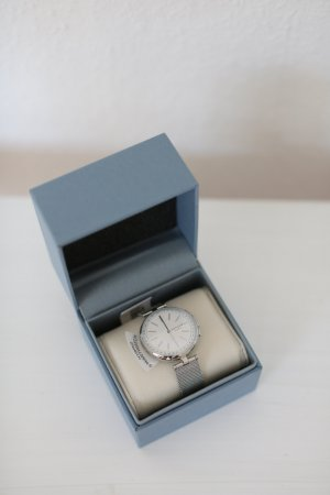 Original Skagen Hybrid Connected Smartwatch Silber Neu mit Zubehör OVP