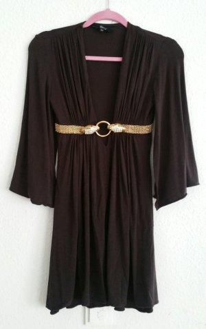 Original Sky USA Kleid mit goldenen Schlangen xs