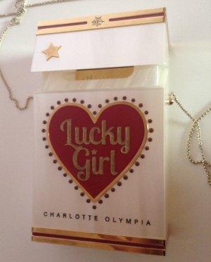 Original Smoking Lucky Girl Clutch von Charlotte Olympia