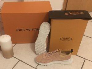 Tod's Zapatos color rosa dorado Cuero