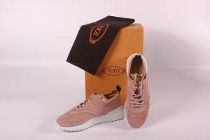 Original Sneakers von Tod's Gr 41 rosa gold Neu und ungetragen
