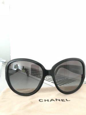 Original Sonnenbrille von Chanel, klassisch schwarz
