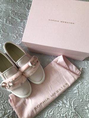 Sophia Webster Sneaker slip-on rosa pallido