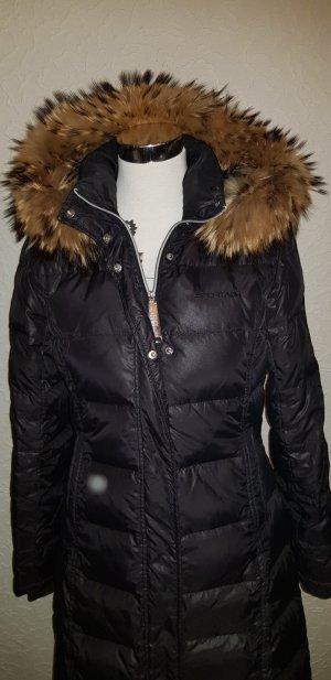 Sportalm Manteau en duvet noir