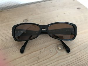 Square Glasses brown synthetic material