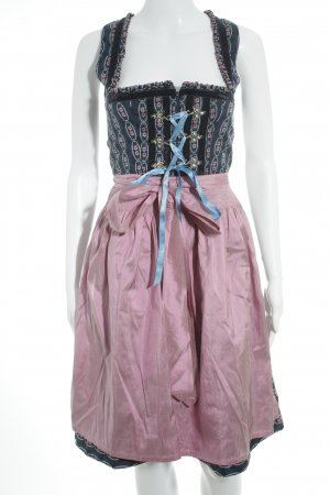Original Steindl Dirndl abstraktes Muster Country-Look