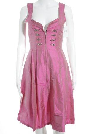 Original Steindl Vestido Dirndl rosa look vintage
