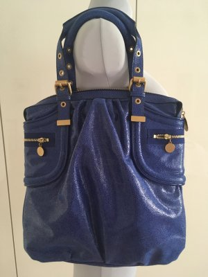 Stella McCartney Carry Bag blue-gold-colored imitation leather