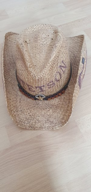 STETSON Cowboy Hat light brown