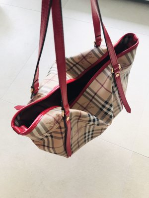 Original Stilvolle  Burberry Schultertasche/ Shopper