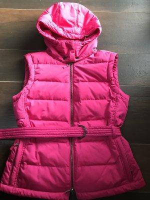 Original Strenesse Daunenweste Daune 36 S Herbst Pink Winter