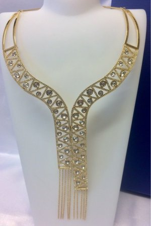 Swarovski Collier Necklace gold-colored