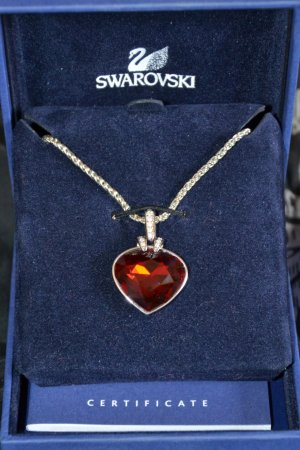 Original Swarovski Kette Oceanic Light Siam