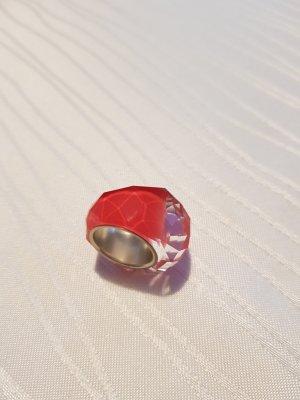 Original Swarovski Ring in Rot