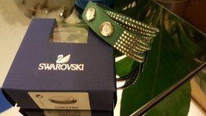 Original Swarovski Slake Armband grün OVP