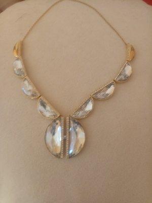 Swarovski Collier argenté-doré argent