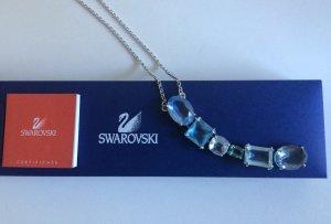 Original Swarowski-Kette mit 6 hängenden Kristallen
