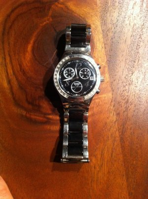 Original Swatch Irony Damenuhr Black