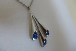 Original Swatch Kette silber blau wie neu