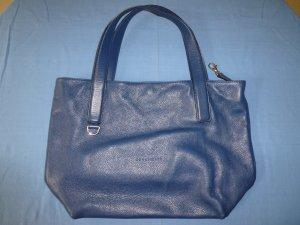 Original Tasche von Coccinelle - aus blauem Leder - in sehr gutem Zustand mit kleinem Schönheitsfehler!