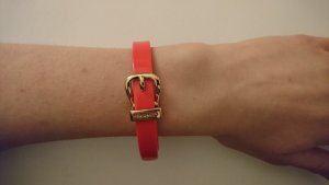 Original Ted Baker Armband Armreif Orange Gold